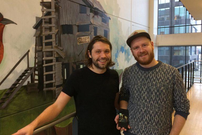 Troels Engelbrecht og Jonathan Langelund.