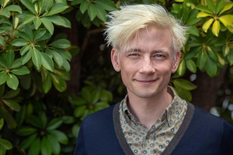 Esben Smed får hovedrollen som Daniel Rye. Foto Thomas Sjørup