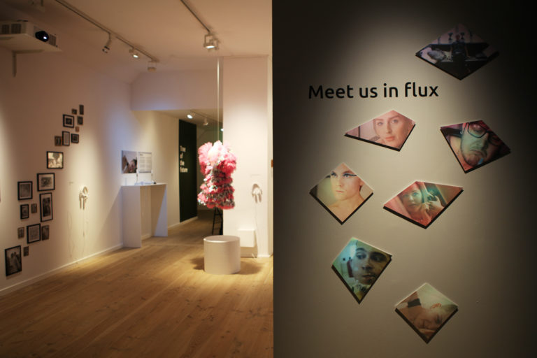 Indgangen til 'FLUX'. Foto: Suvi Andrea Helminen