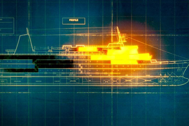 Tumblehead har bl.a. været involveret i skibstegningerne som vist her.