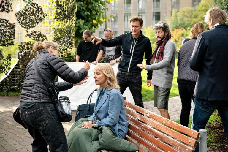 Behind the scenes på 'Undtagelsen'. Foto: Martin Dam Kristensen.