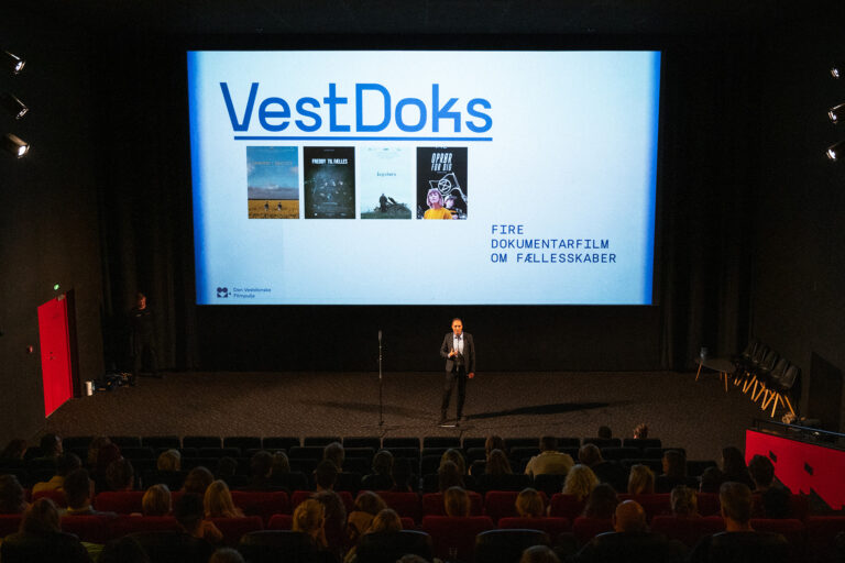 Fra VESTDOKS-premieren. Foto: Kasper Krupsdahl.